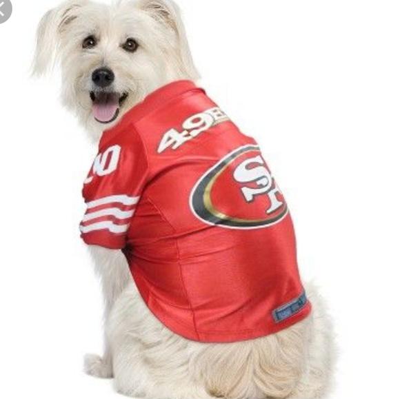 c77127f68c1 San Francisco 49ers DOG Jersey